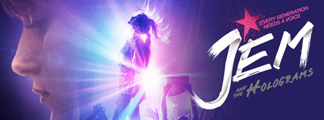 Check out the new Jem and the Holograms poster and the Jem and the Holograms trailer!