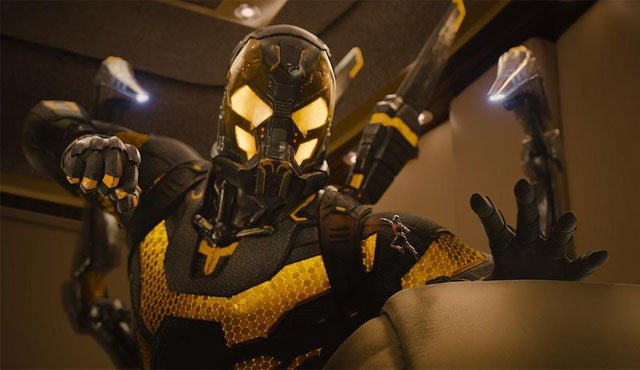 Yellowjacket is among the Ant-Man villains showcased in the new feature film.