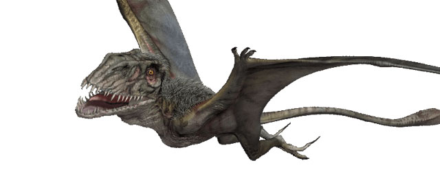 The fearsome Dimorphodon is one of the Jurassic World dinosaurs!
