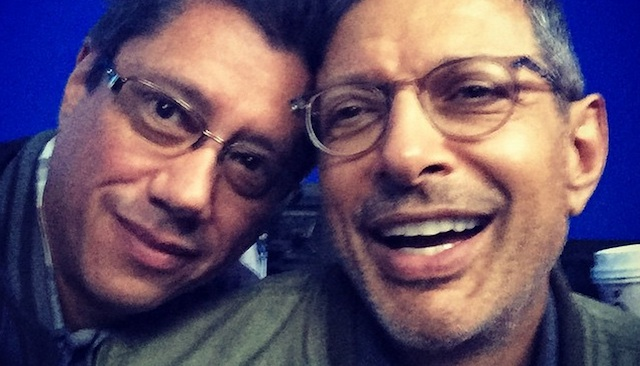 Jeff Goldblum is back as David Levinson in a new Independence Day 2 set photo!
