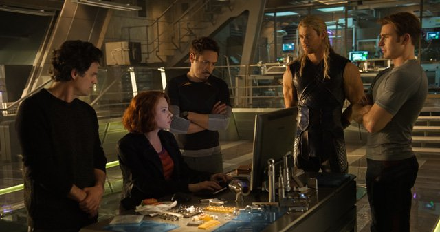 Hawkeye and Black Widow, void of superhero abilities, use their tactical skills as spies to fight for good in Avengers: Age of Ultron.