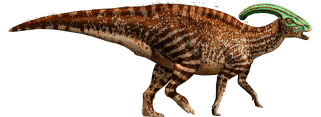 The list of Jurassic World dinosaurs includes the Parasaurolophus.