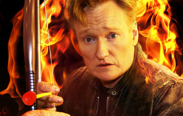 Conan O'Brien to Moderate The Last Witch Hunter and Mockingjay Comic ...
