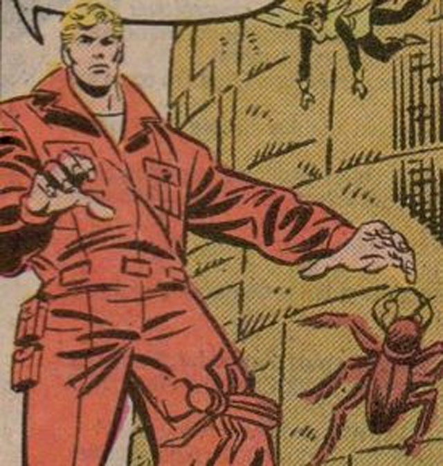 Pym came out of his self-imposed retirement to join the West Coast Avengers... as himself. It may have been from the '80s, but that red jump suit is still a crime against fashion.