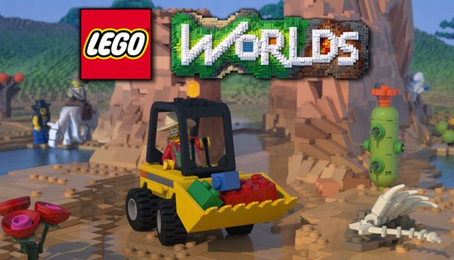Announcement Trailer for LEGO Worlds, an Immersive and Fully Customizable Adventure.