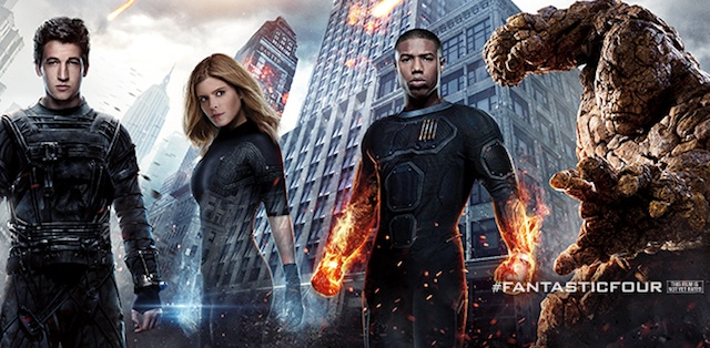 Check out a new Fantastic Four TV spot!
