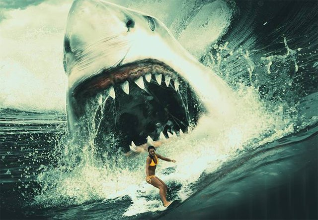 Eli Roth is in talks to direct the killer shark movie Meg.