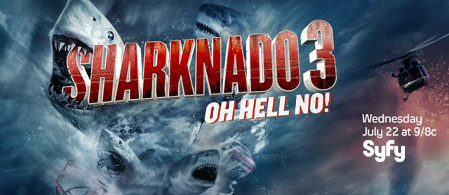 The First Promo for Sharknado 3: Oh Hell No! Hits