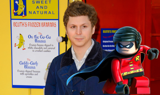 Michael Cera has been cast as Robin in The LEGO Batman Movie!