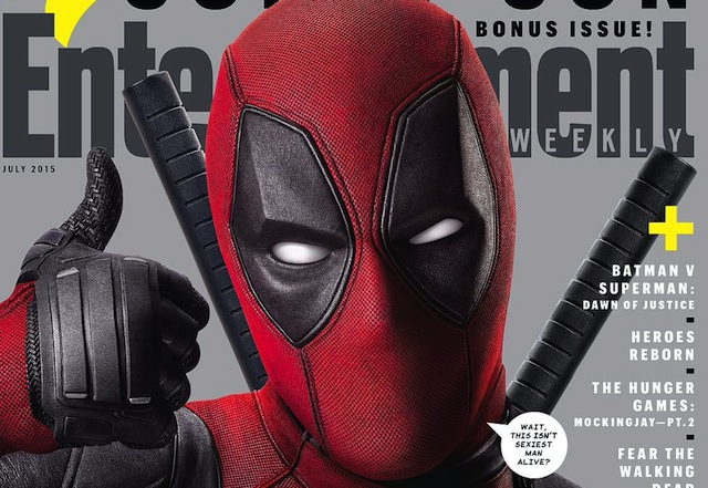 Deadpool gets his own EW cover.