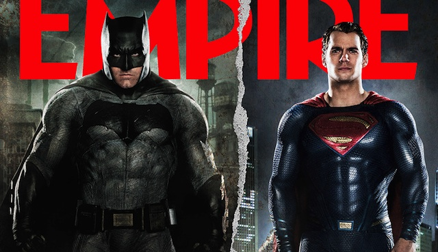 It's Batman v Superman on the cover of the latest Empire!