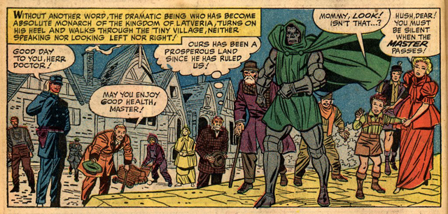 Some Fantastic Four scenes featuring Latveria would be most welcomed.