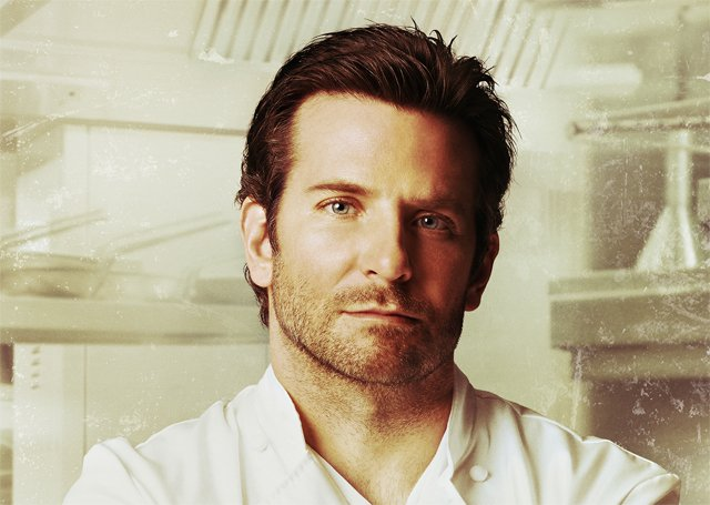 Burnt Poster: Bradley Cooper is a Chef on the Edge.