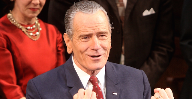 Bryan Cranston will lead HBO's All the Way.