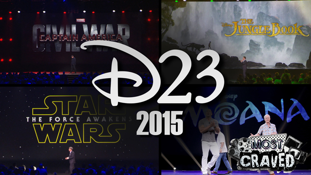 Most Craved looks at the very best of D23 Expo 2015!