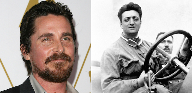 Christian Bale will headline Michael Mann's Ferrari biopic.