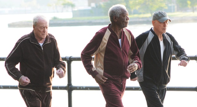 Wallpaper Going In Style Morgan Freeman Alan Arkin: Going In Style Set: Zach Braff Directs An Oscar-Winning