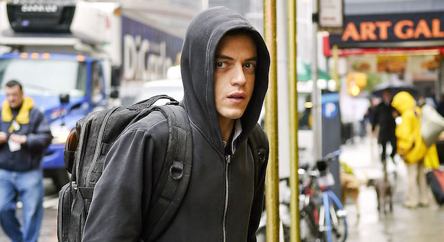 The Mr. Robot season finale has been postponed due to today's tragic events.