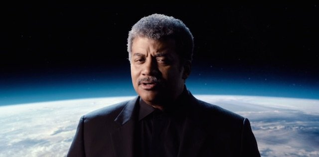Neil deGrasse Tyson hosts the latest viral video for The Martian.