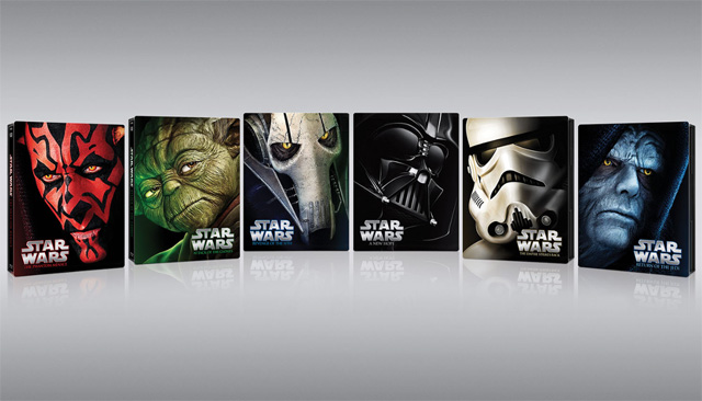 Star Wars Saga to be Released in Limited Edition Blu-ray Steelbooks.