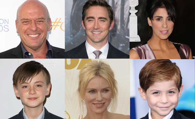 Three more have joined Naomi Watts in the Book of Henry cast as Dean Norris, Lee Pace and Sarah Silverman board Colin Trevorrow's next big screen project.