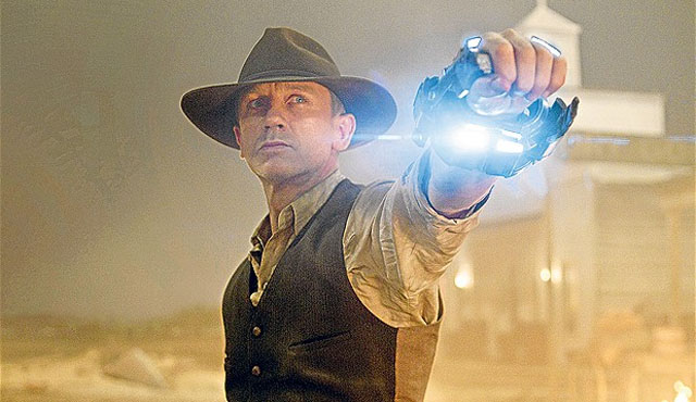 Cowboys and Aliens was an unsuccessful entry in the Daniel Craig movies list.