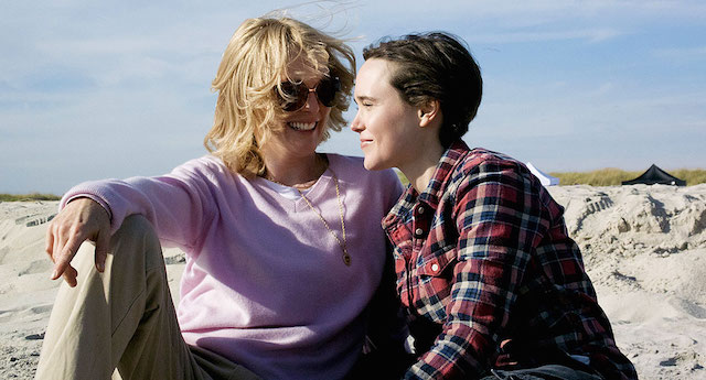 "The new Freeheld trailer features Miley Cyrus performing ""Hands of Love""."