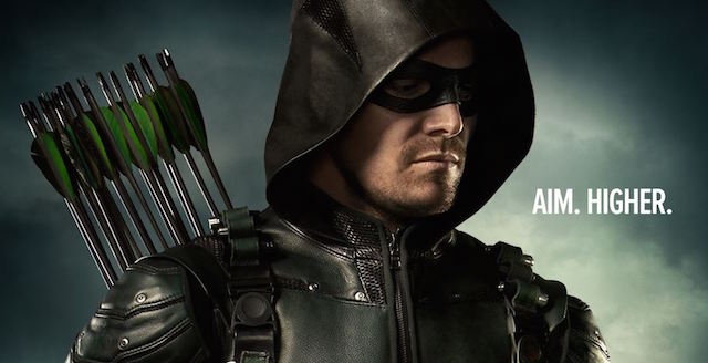"""I have become,"" Oliver says, ""Green Arrow."""