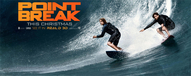Four New Point Break Posters Take Things to the Extreme