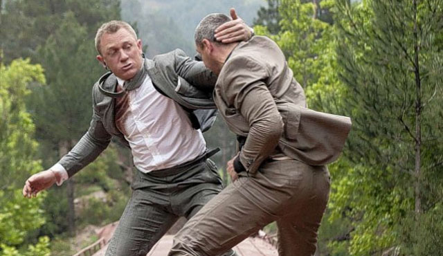 Skyfall was the most recent of the Bond Daniel Craig movies.