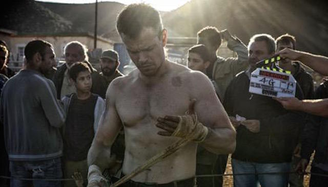 Matt Damon returns as Jason Bourne in the new Bourne movie, hitting theaters in 2016.