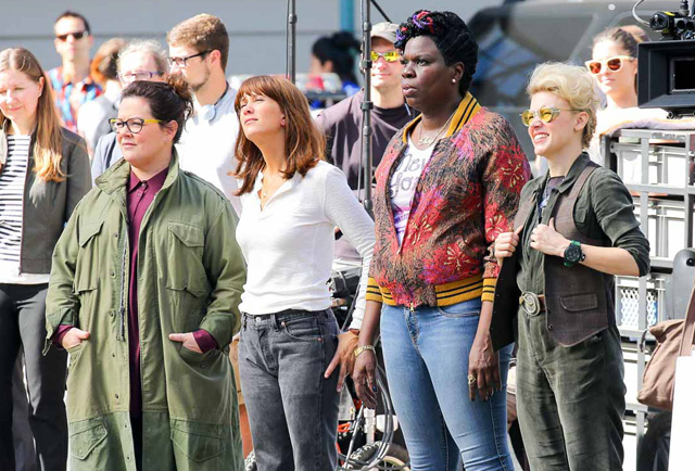 Ghostbusters Photos: A Look at the Final Day of Shooting.