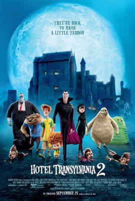 The Weekend Warrior on Hotel Transylvania 2, The Intern and