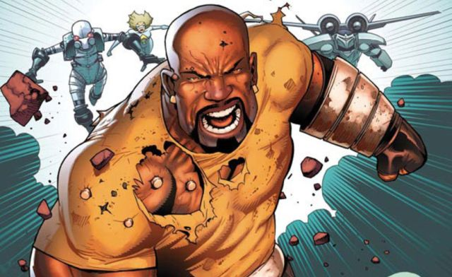 The Luke Cage Villains Conspire in New Set Photos.