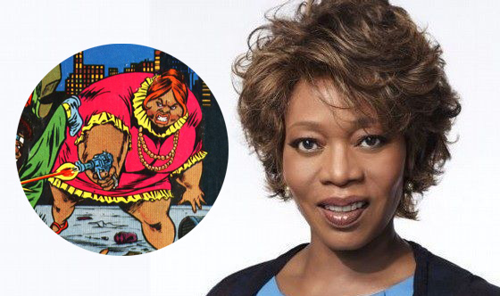 Alfre Woodward is part of the Marvel's Luke Cage cast.