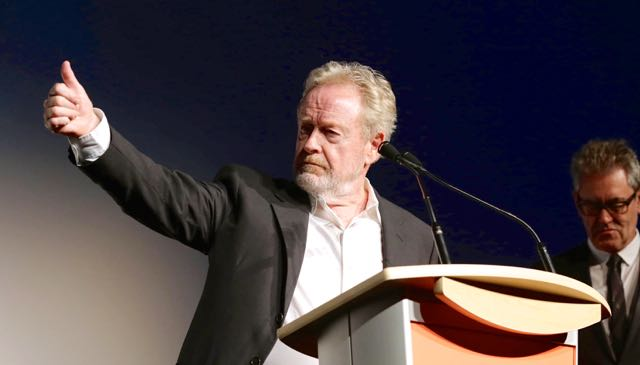 CS Video Interview with Director Ridley Scott on The Martian.