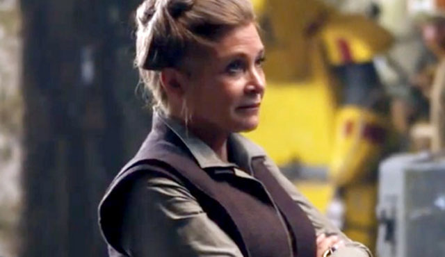 Resultado de imagem para carrie fisher star wars the force awakens