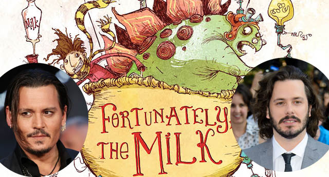 A big screen version of Neil Gaiman's Fortunately the Milk is on the way.