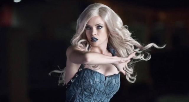 Killer Frost arrives in a new still from an upcoming episode of The Flash.