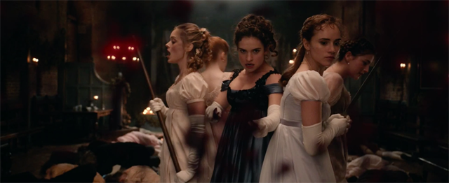 The Pride and Prejudice and Zombies International Trailer is Here!