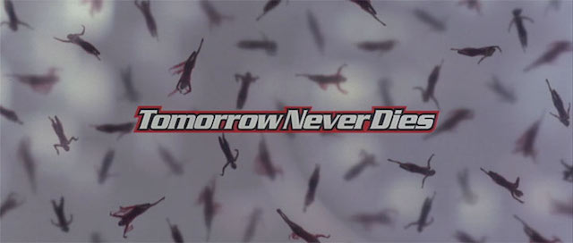 Tomorrow Never Dies gets the other honorable mention on our James Bond theme song list.