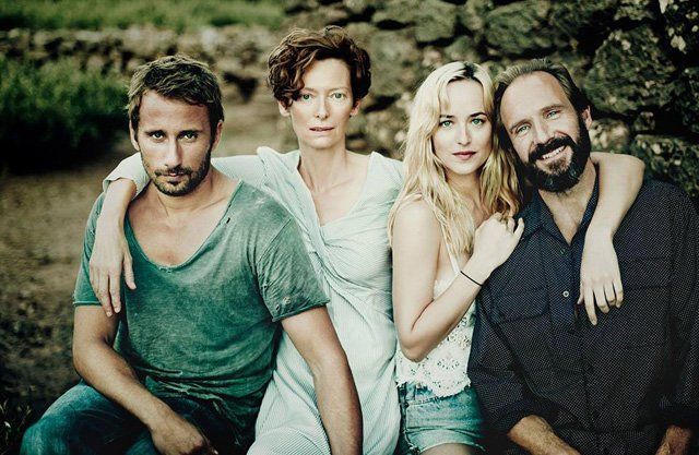 A Bigger Splash trailer featuring Ralph Fiennes, Tilda Swinton, Matthias Schoenaerts and Dakota Johnson.