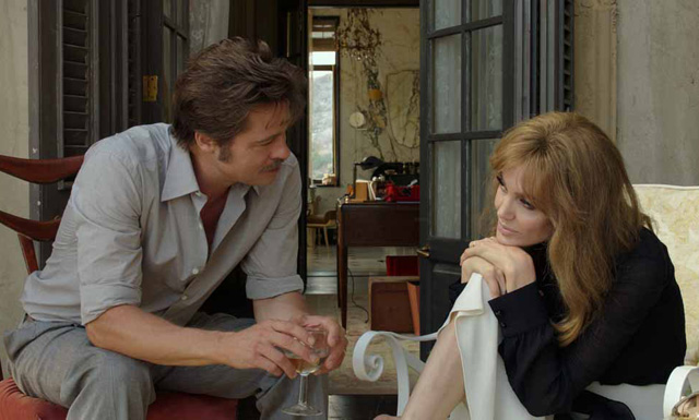 Angelina Jolie Pitt and Brad Pitt in the New By the Sea Trailer.