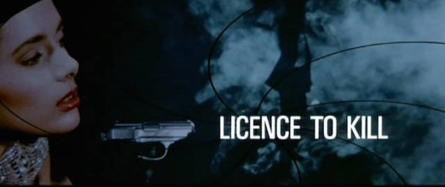 Licence to Kill is another of the James Bond theme songs.