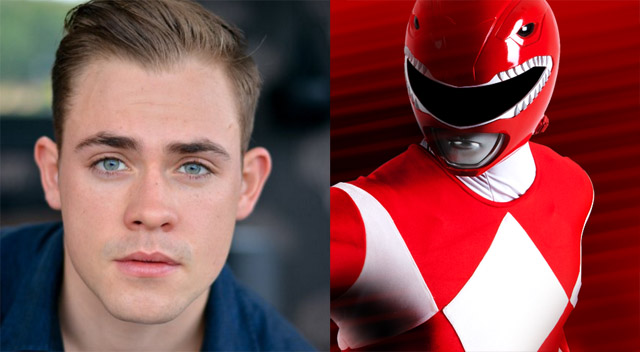 Dacre Montgomery will play the Red Ranger in the upcoming Power Rangers movie.