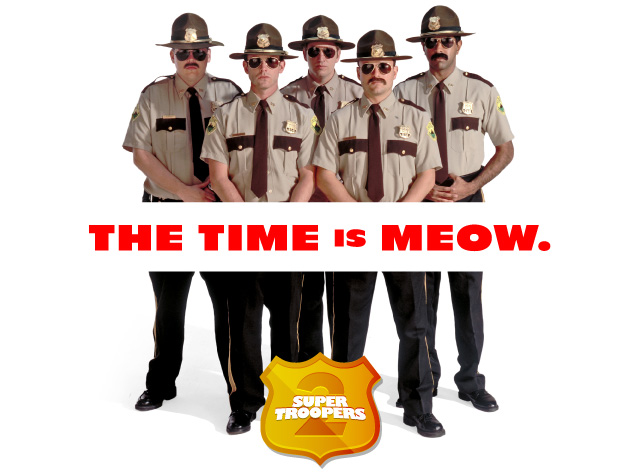 Broken Lizard takes the mustaches for a ride in Super Troopers 2 set photos