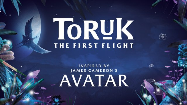 Cirque du Soleil's Avatar Show Toruk - The First Flight Starts Its Run.