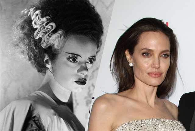 Angelina Jolie Wanted by Universal for Bride of Frankenstein Remake.