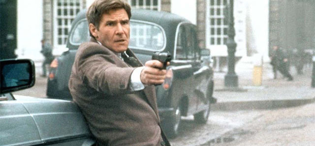 Patriot Games is the first of the Jack Ryan Harrison Ford movies.