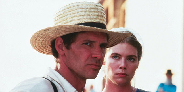 Peter Weir's Witness is another of the best Harrison Ford movies.